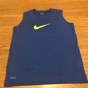 Boys Nike dri fit tank